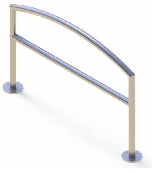 Kent Arc Cycle Stand (Stainless Steel)