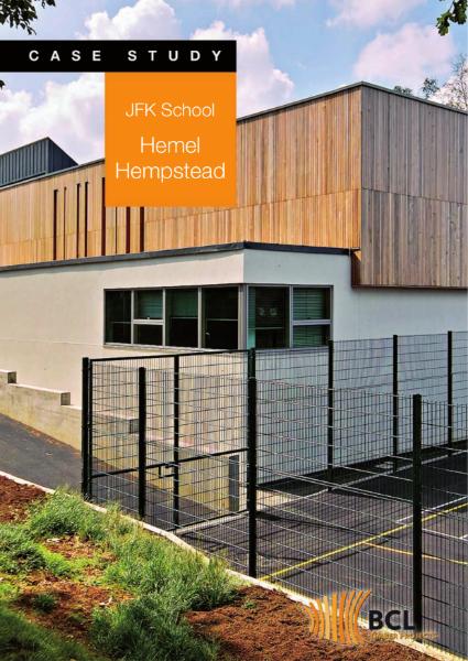 JFK School - Prefabricated Timber Cladding