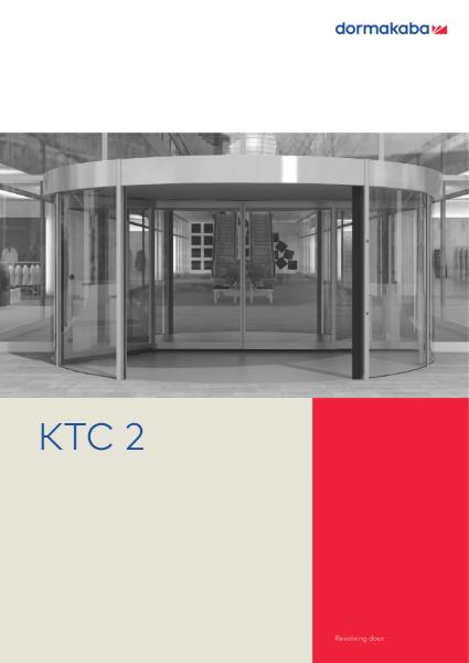 DORMA KTC-2 - Revolving Doors Comfortline