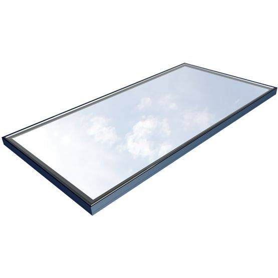 Flushglaze Multipart Rooflight - Three Wall Abutment