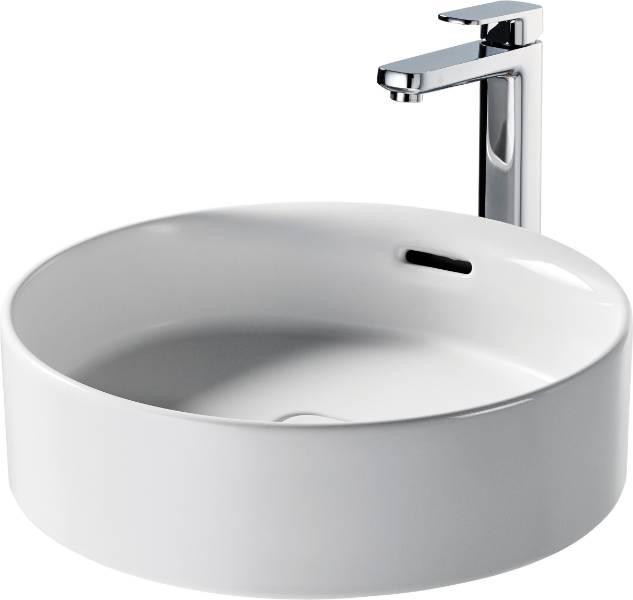 Fusaro Vessel Basin 45X45 White OF NTH Rnd