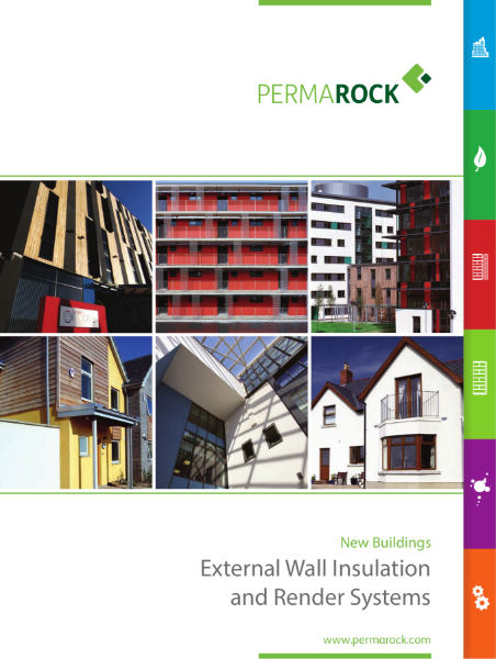 PermaRock New Buildings Brochure (external wall insulation, insulated cladding and render systems for new buildings)