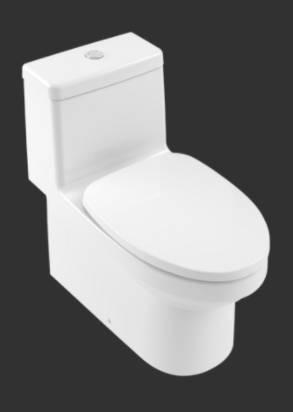 O.novo One-piece-WC 4607AS