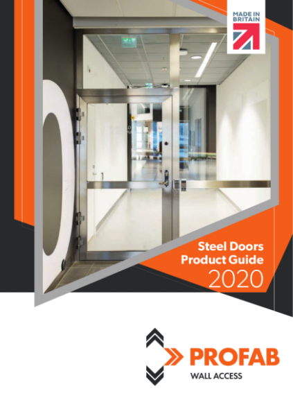Profab Access Steel Doors Product Guide 2020