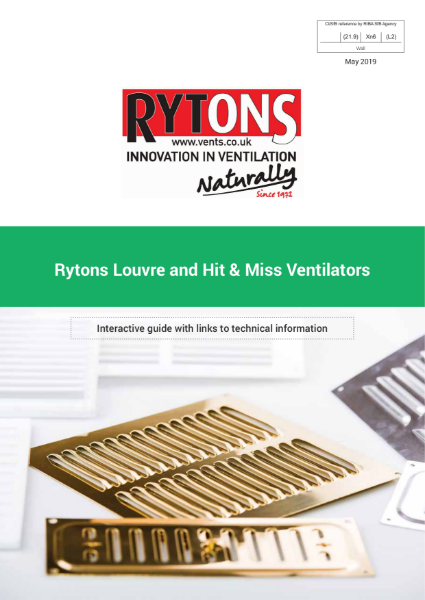 Louvre and Hit & Miss Ventilators