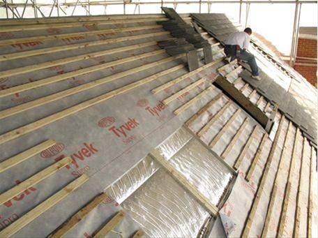 Tyvek® Supro – Breather roof underlay