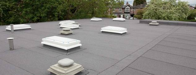 Total Torch Inverted Warm Deck Roofing System