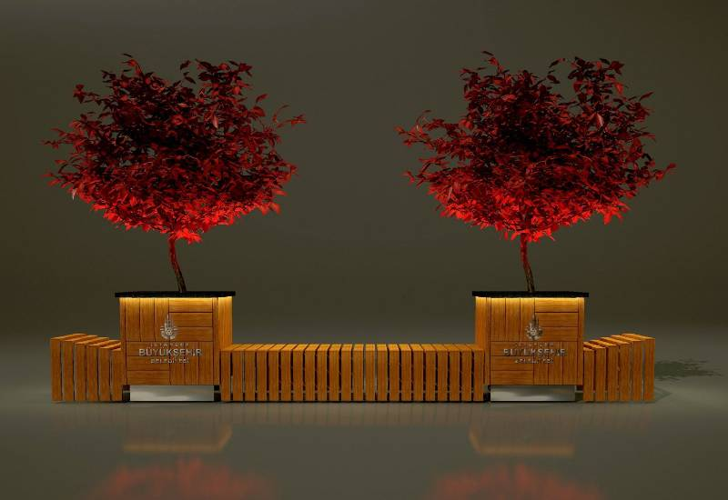 Benches/ Planters