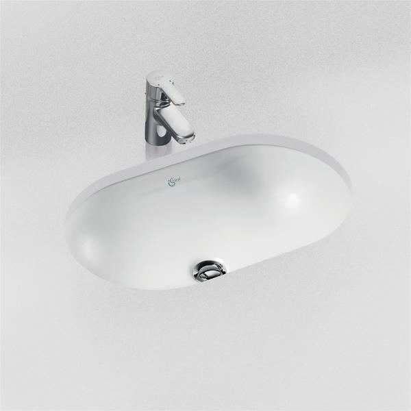 Concept Oval 48 cm Under-countertop Washbasin