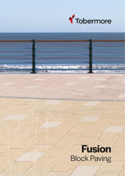 Fusion  - Block Paving with striking natural granite aggregates