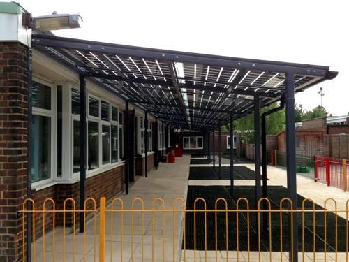 Capel Manor Primary School - Bespoke Canopy
