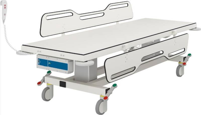 Mobile Change Trolley 2 R9452721 - Electrically Height Adjustable 2190mm long