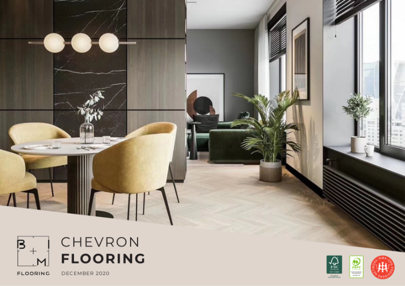 Chevron Flooring Series Catalogue