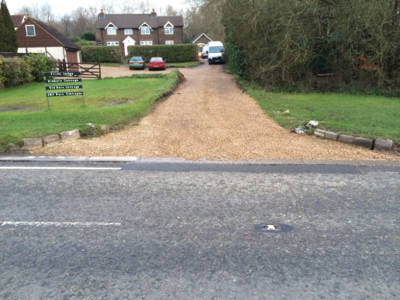 Gravel Driveway Installation Using CORE DRIVE Gravel Grid System