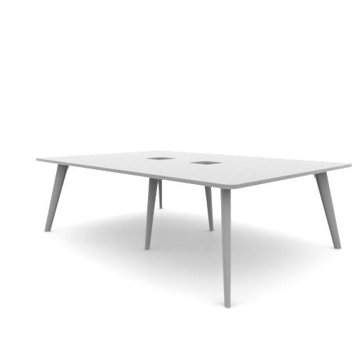 Pailo Project Table With Cut Out For Power UK: PLMT2416-AB
