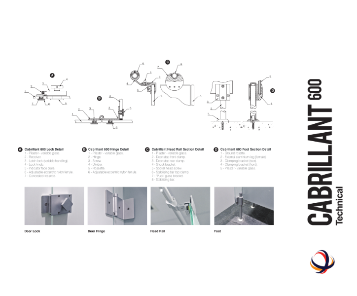 Cabrillant 600 Cubicles Technical Sheet