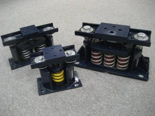 Restrained Spring Mounts