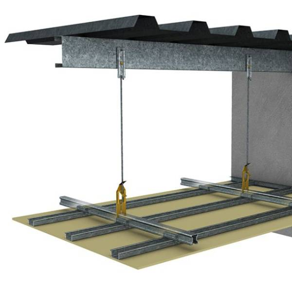 KEY-LOCK® Concealed Suspended Ceiling System