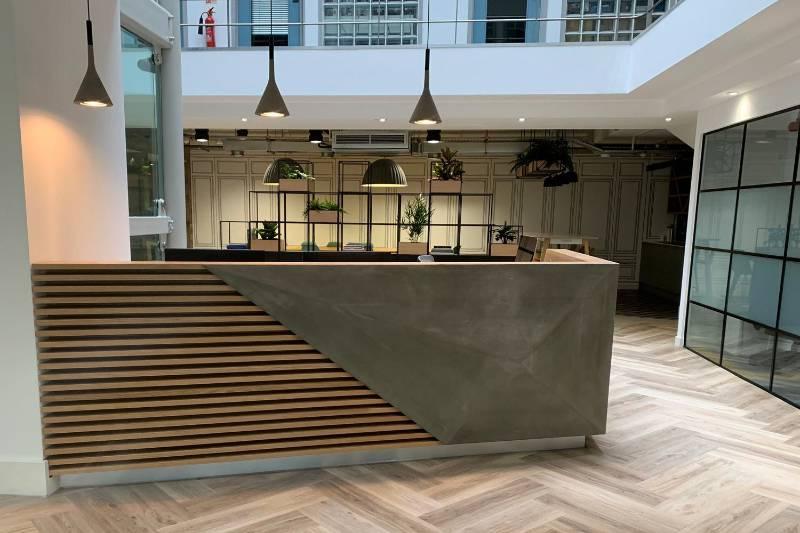 Concrete Reception Desks