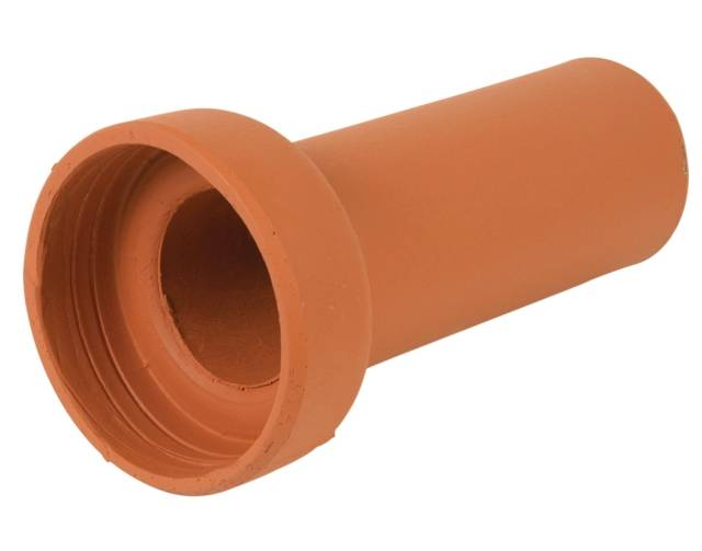 Vitrified clay plain wall below-ground drainage pipes and fittings for flexible jointing