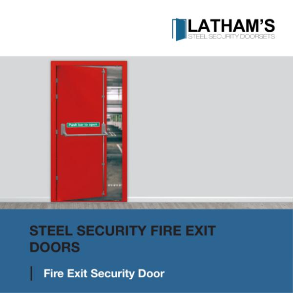 Security Fire Exit Door Brochure