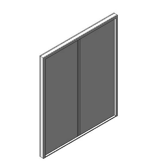 OUTA-FOR - Double - Solid Panel