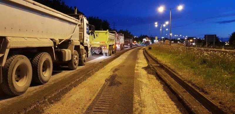 A639 road improvement scheme