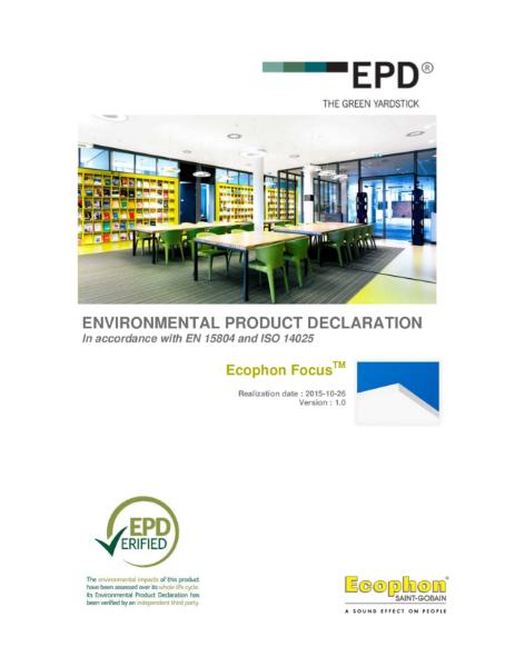 Focus Environmental Product Declaration