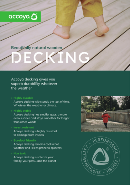 Accoya - Benefits of Decking