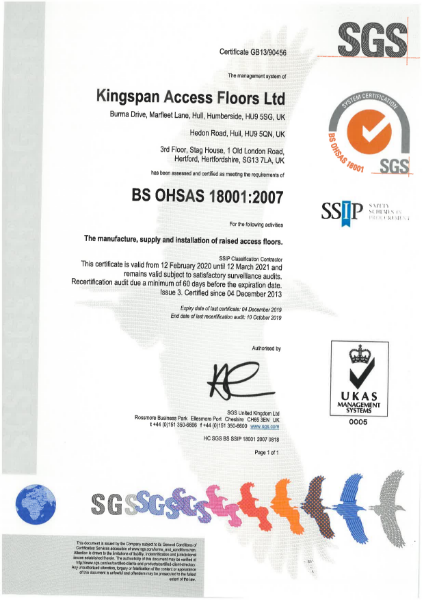 BS OHSAS 18001:2020