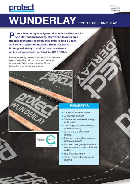 Protect Wunderlay Membrane Brochure
