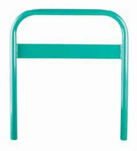 Ollerton Sheffield Cycle Stand with Sign Strip - Galvanized Steel