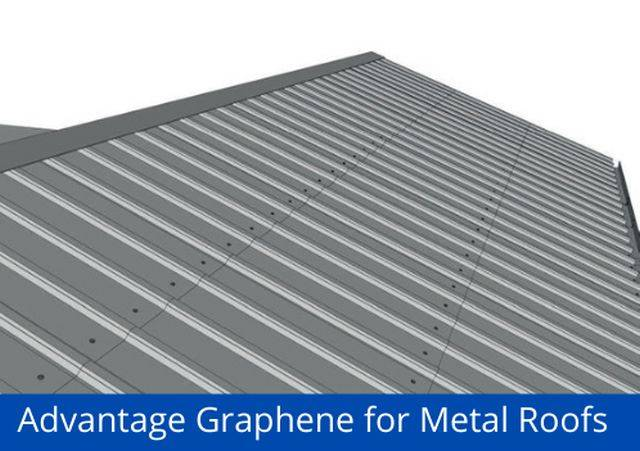 Advantage® Graphene for Metal Roofs