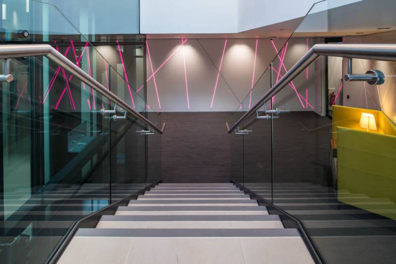 Stair Edgings & Matting - Central Square, Leeds