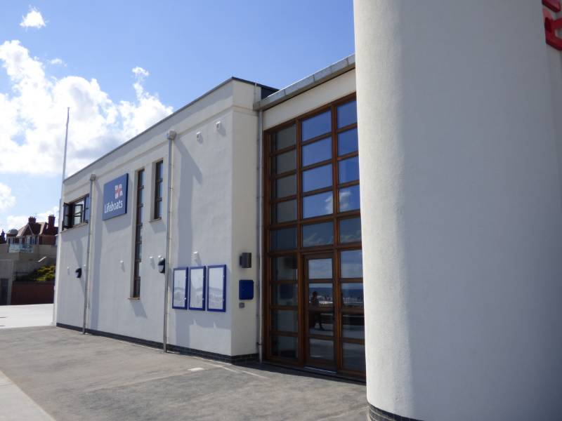 Robust Rainwater System for Bridlington's New RNLI Station
