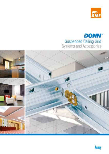 DONN Suspended Ceiling Grid Systems and Accessories