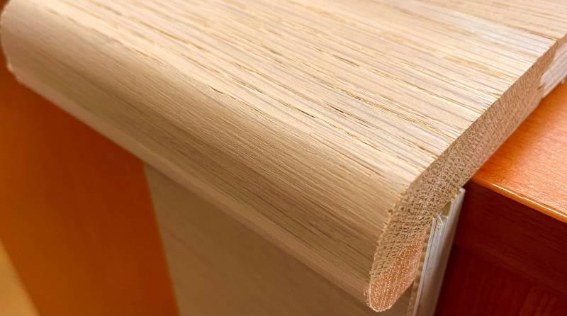 Oiled European Oak Stair Nosing
