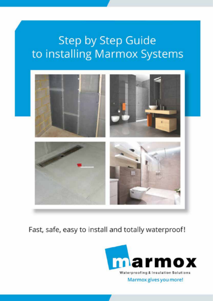 Marmox Tile backer boards and Shower bases