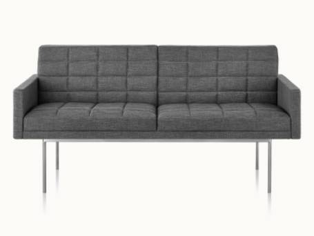 Tuxedo Component Settee with Arms