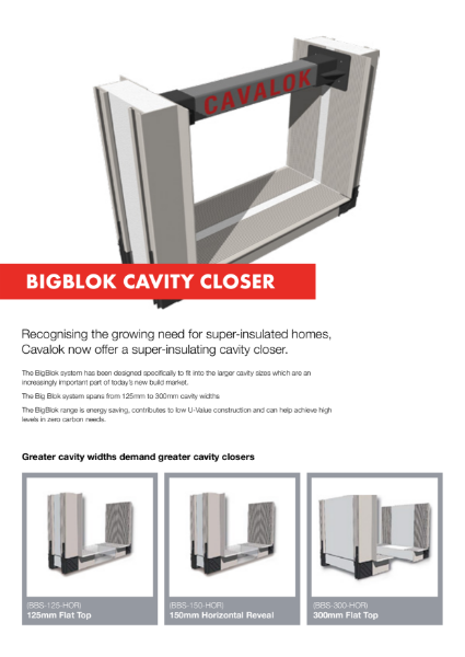 Cavalok Bigblok Closer System Product Information