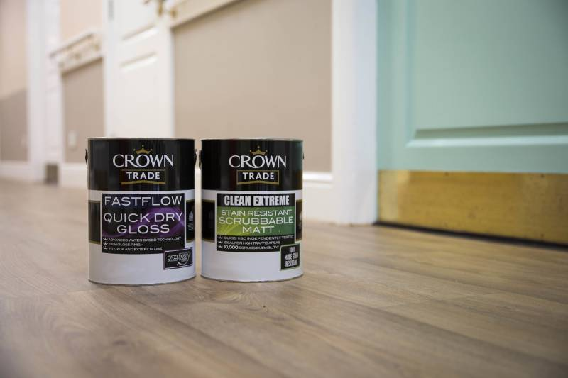 Care homes get colour identity from Crown Paints