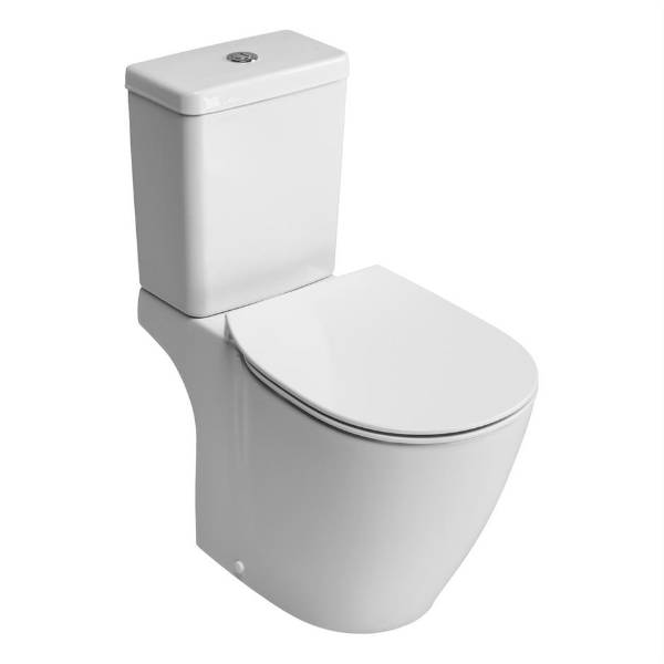 Santorini Bow Closed Coupled WC Suite with Aquablade technology