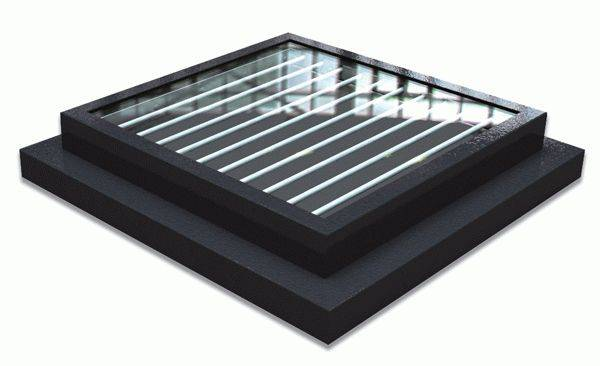 Plateau Rooflight Added Security