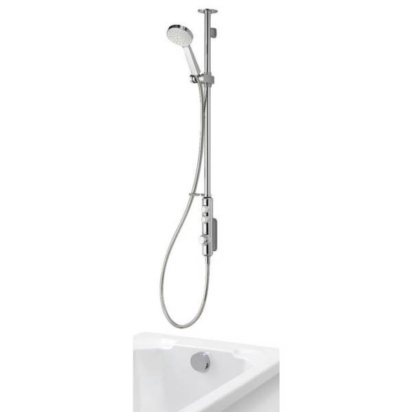 iSystem - Digital Exposed With Adjustable Head And Bath Overflow Filler