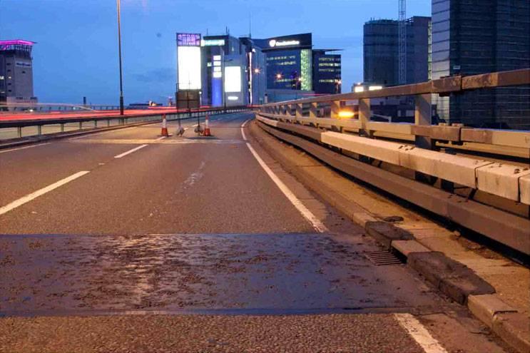 Inlaid Motorway Crack Sealing System