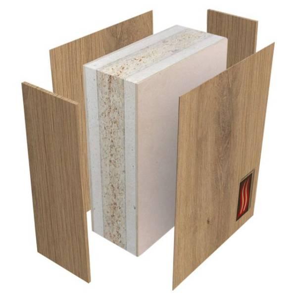 HALSPAN® 120 Fire Rated Interior Grade Door Blanks - Latched Single Acting Single Doors
