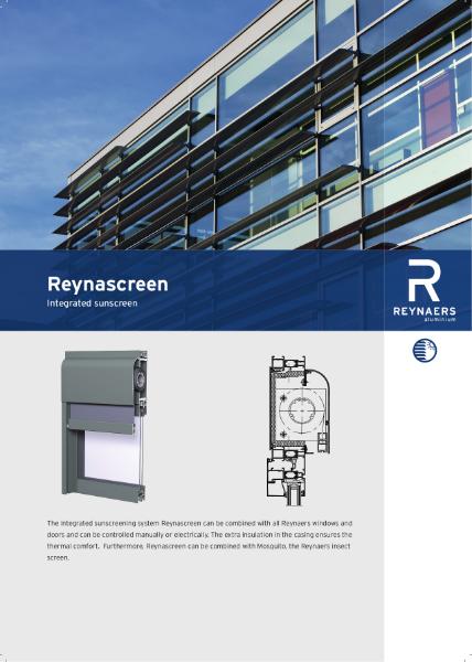 Aluminium Solar Shading - Reynascreen