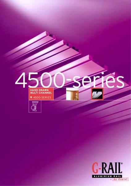 G-Rail hand drawn multi channel - 4500 series