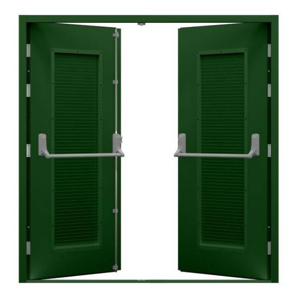 Double Fire Exit Door