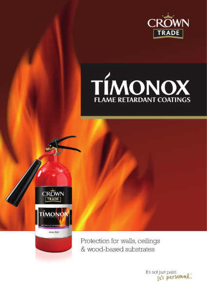 Crown Trade Timonox Flame Retardant Coatings